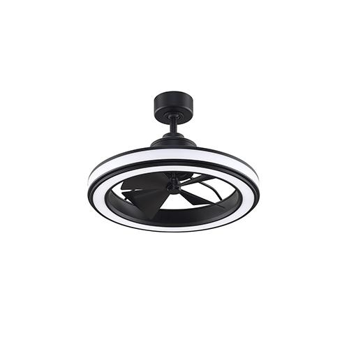 Gleam Black LED Ceiling Fan