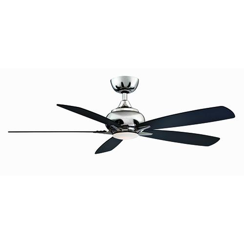 Doren Polished Nickel LED Ceiling Fan