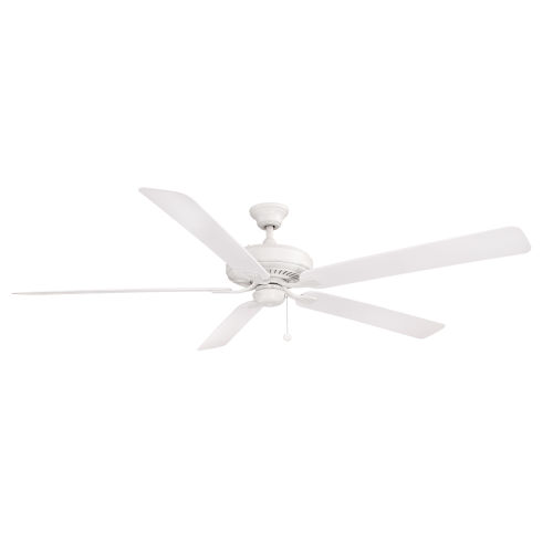 Edgewood Matte White 72-Inch Indoor Outdoor Ceiling Fan