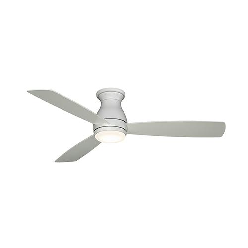 Hugh 52 Matte White LED Ceiling Fan