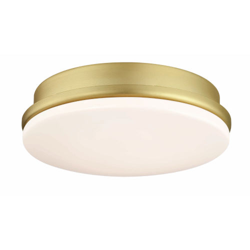 Kute Brushed satin Brass Six-Inch LED Light Kit