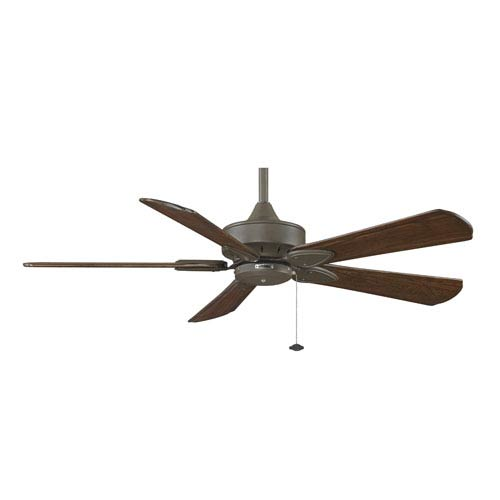 Fanimation Windpointe Oil Rubbed Bronze 52-Inch Ceiling Fan with Walnut Raised Blades