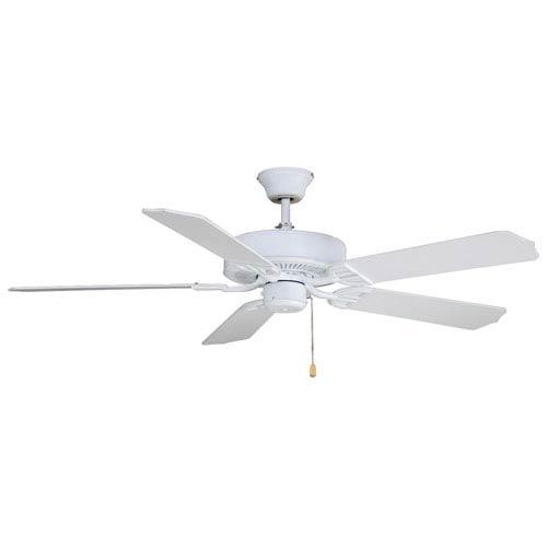 Fanimation Aire Decor Builder Series Matte White Energy Star 52-Inch Ceiling Fan