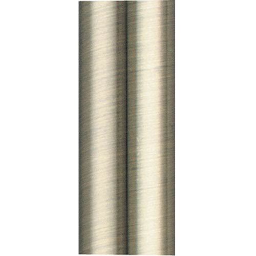 Antique Brass 12-Inch Stainless Steel Downrod