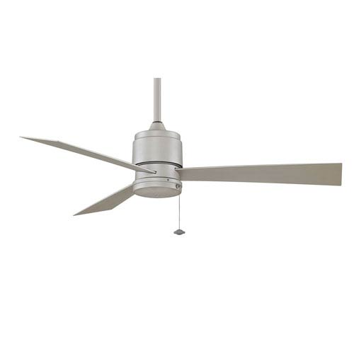 Zonix Satin Nickel Energy Star Outdoor Ceiling Fan