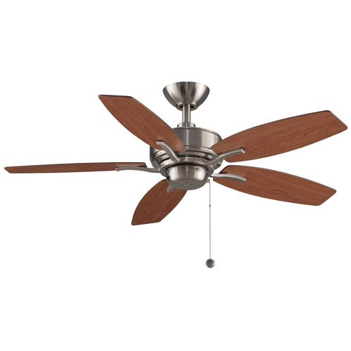 Aire Deluxe Brushed Nickel 44-Inch  Ceiling Fan