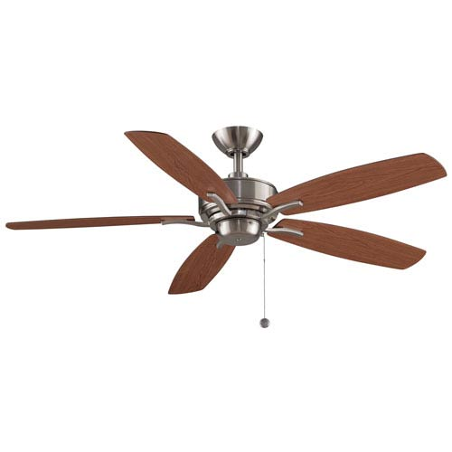 Fanimation Aire Deluxe Brushed Nickel 52-Inch  Ceiling Fan
