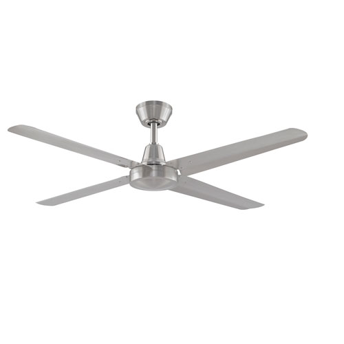 Nickel brushed ceiling fans free shipping bellacor ascension brushed nickel 54 inch ceiling fan aloadofball Choice Image