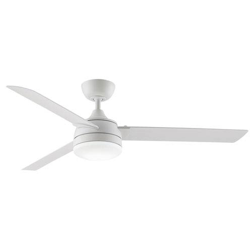 Xeno Matte White 56-Inch Energy Star LED Outdoor Ceiling Fan