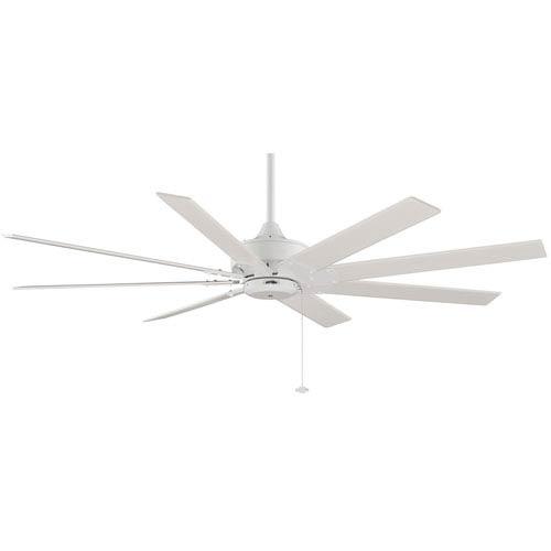 Fanimation Levon Matte White 63-Inch Energy Star Ceiling Fan