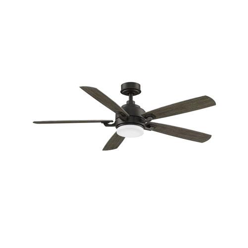 Benito v2 Matte Greige 52-Inch Ceiling Fan with LED Light Kit
