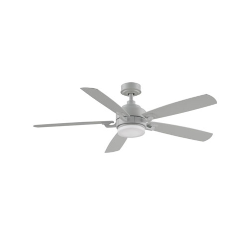 Benito v2 Matte White 52-Inch Ceiling Fan with LED Light Kit