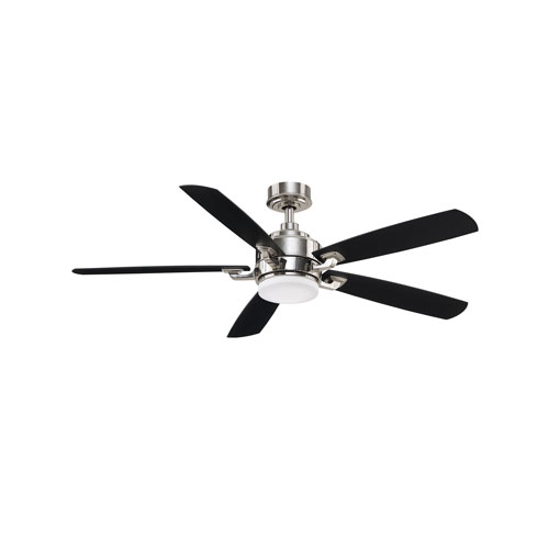 Benito v2 Polished Nickel 52-Inch Ceiling Fan with LED Light Kit