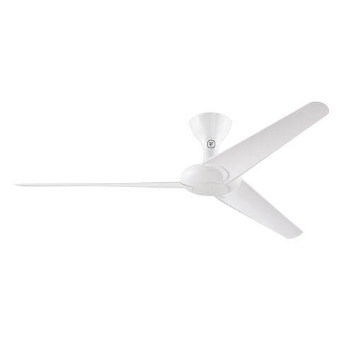 Fanimation Drone Glossy White 60 Inch Ceiling Fan