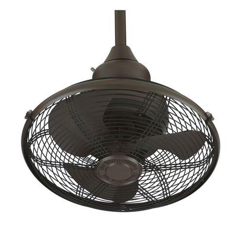 Fanimation Extraordinaire Oil Rubbed Bronze Orbital Ceiling Fan