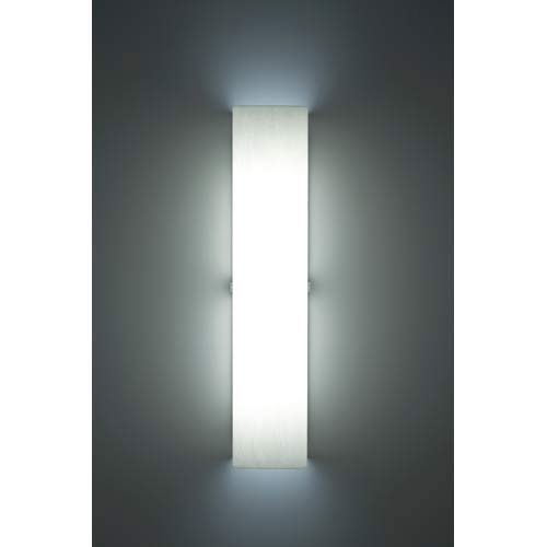 WPT Design Channel White Fluorescent Wall Sconce
