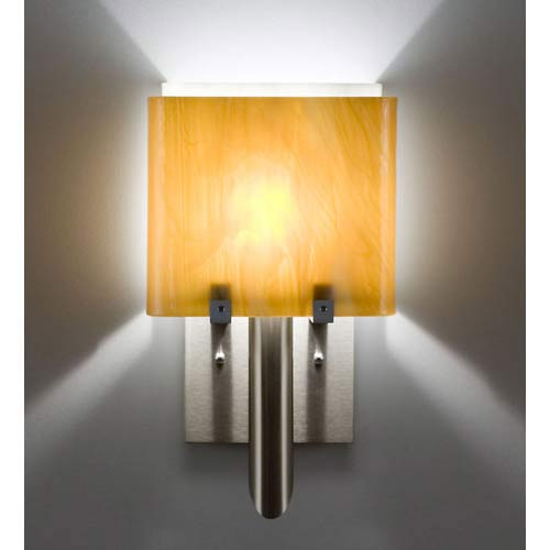 WPT Design Dessy One/6 Toffee/White Wall Sconce