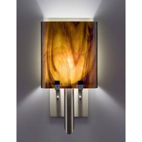 Dessy One/8 Rootbeer/Snow Wall Sconce