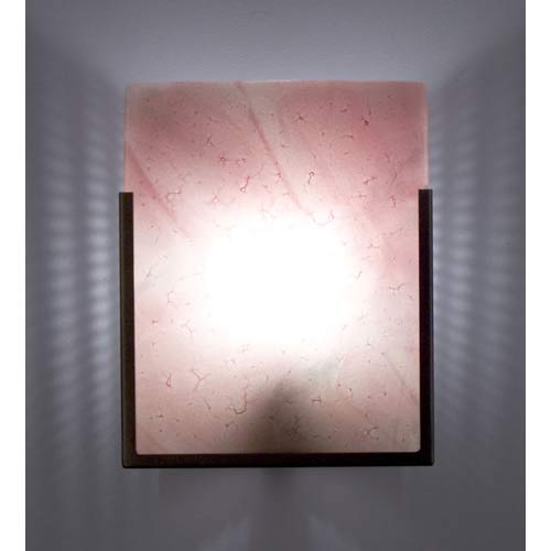 F/N One Bronze Blush One-Light Wall Sconce