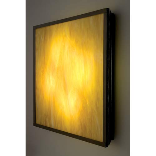 WPT Design F/N Big Fluorescent Toffee Four-Light Wall Sconce