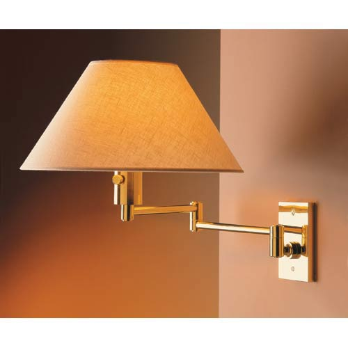 Imago Pared Polished Brass Wall Sconce