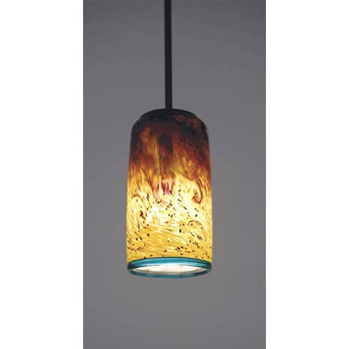 Whitney Cylinder Tall Mini Pendant with 14-Inch OA Drop