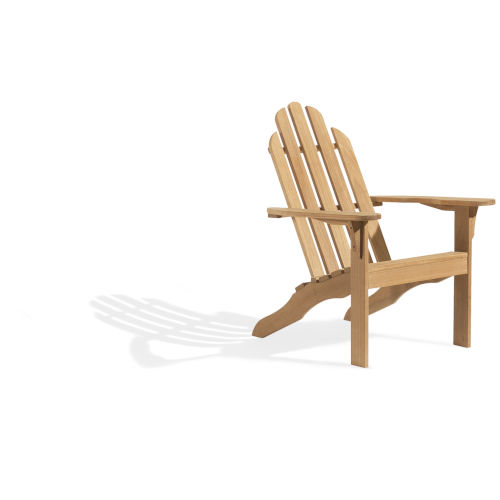 Oxford Natural Outdoor Adirondack Chair