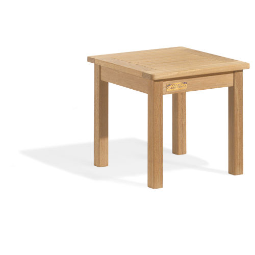Classic Natural Patio End Table