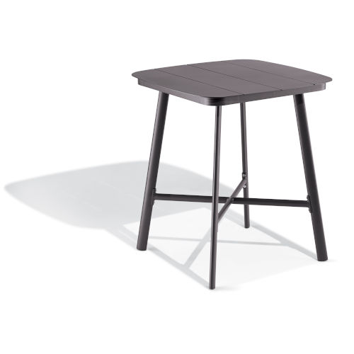 Eiland Carbon Outdoor Square Bar Table
