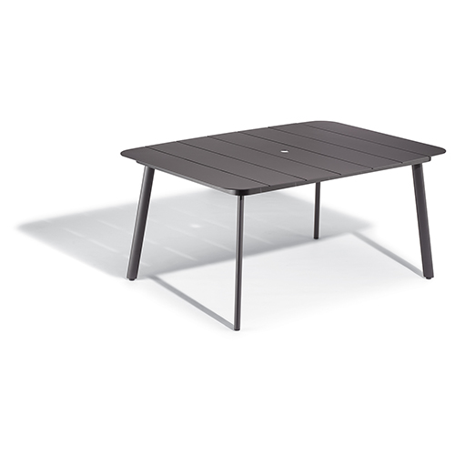 Eiland Carbon 63 In. Rectangular Dining Table