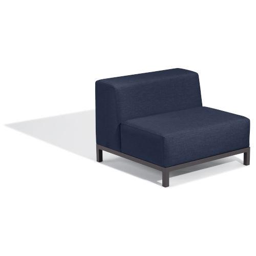 Koral Carbon and Spectrum Indigo Modular Side Chair Seat