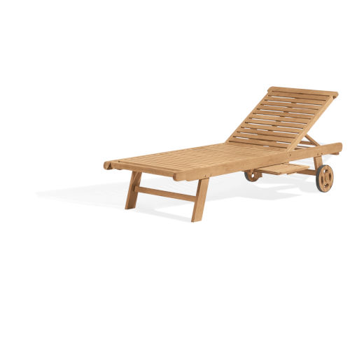 Oxford Natural Outdoor Chaise Lounge