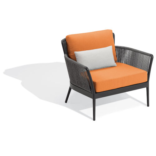 Nette Multicolor Patio Club Chair