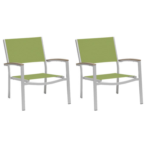 Travira Go Green Sling Seats Chat Chair Set of 2