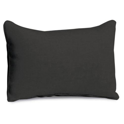 Lumbar Pillow - Jet Black Polyester