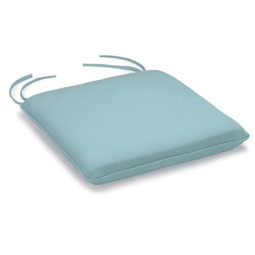 Mera Stacking Armchair Cushion - Canvas Mineral Blue Sunbrella
