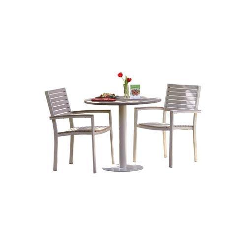Travira - 3-Piece 32-inch Table Bistro Set - Vintage Tekwood