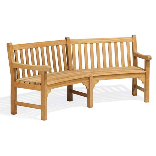 Essex Curved 83-Inch Bench