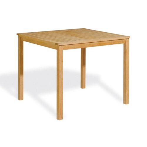 Hampton Shorea Hardwood 45-Inch Square Counter Height Table