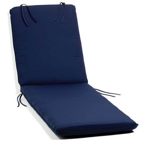 Oxford Navy Chaise Cushion