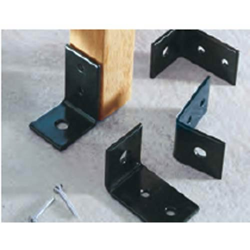 Set of Four Powder Coated Bench Anchors