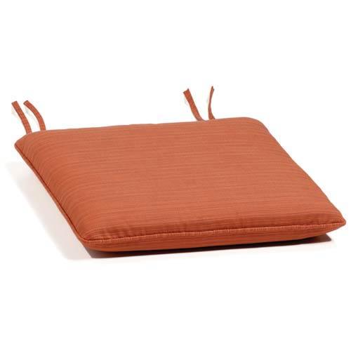 Dupione Papaya Sidechair Cushion