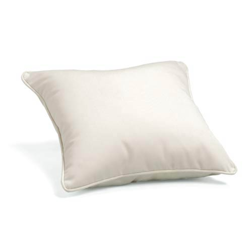 Natural 15-Inch Square Throw Pillow