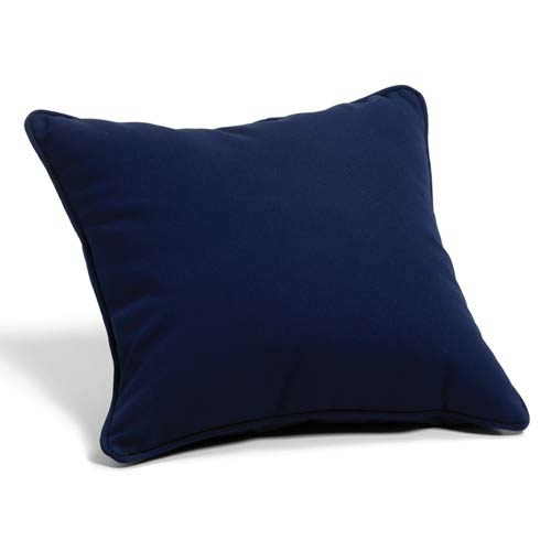 Navy 15-Inch Square Throw Pillow