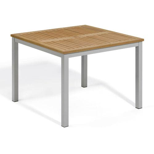 Travira 39-Inch Natural Tekwood Dining Table