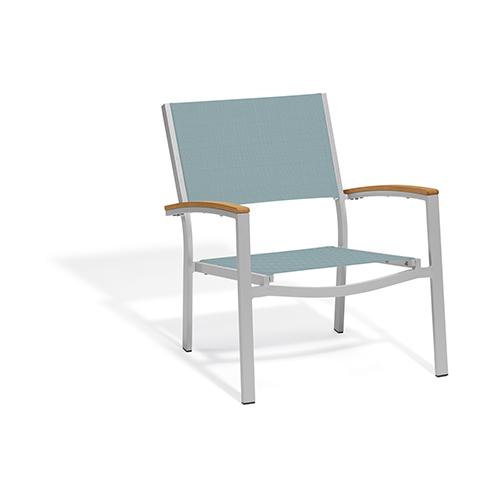 Travira Slate Sling Chat Chair - Set of 4