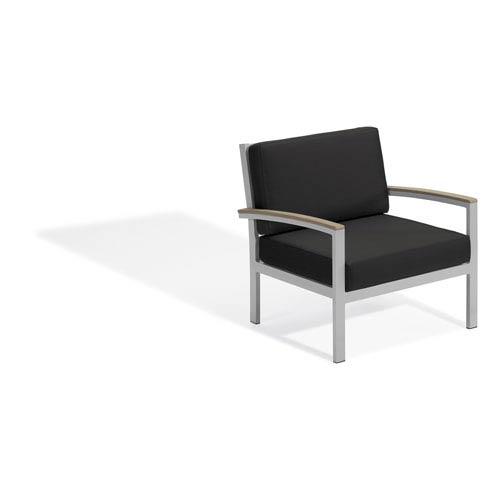 Travira Club Chair - Vintage Tekwood - Jet Black