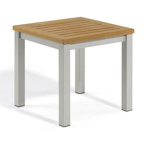 Travira Natural Tekwood End Table