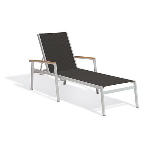 Oxford Garden Travira Ninja Sling Chaise Lounge - Set of 2