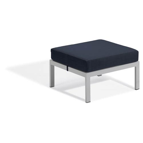 Oxford Garden Travira Ottoman - Midnight Blue